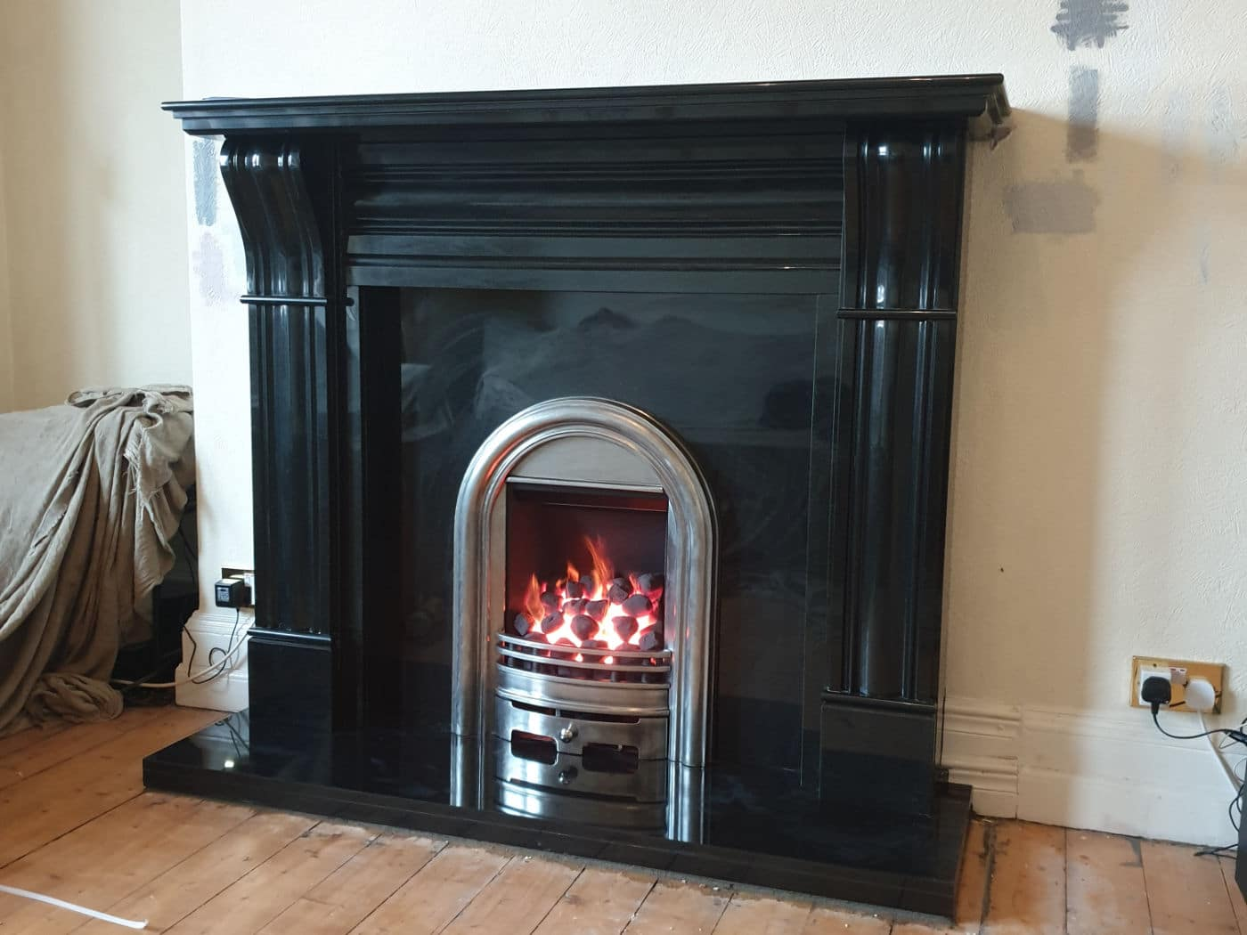 Traditional installed fireplace Lanarkshire
